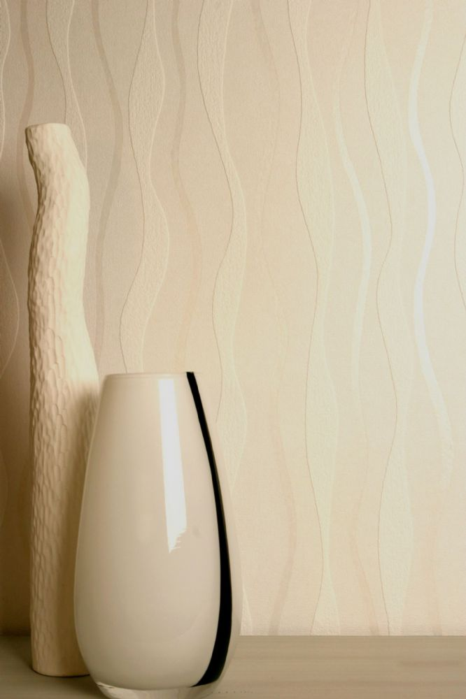Arthouse Wave Cream 820903 Wallpaper